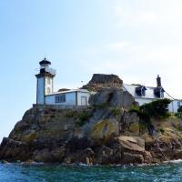 Phare de I'ile Louet in the Bay of Morlaix