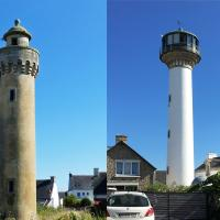 Returning to the mainland, we stopped by the Phare de Kerbel and Phare de Poulfanc before heading to Lorient.