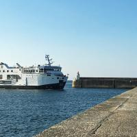 Our second ferry ride took us to Belle Ile and Port Maria