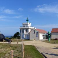 Semaphore of Point Saint Gildas.  One of the 19th century Napoleonic semaphores - the world's first telegraph network.