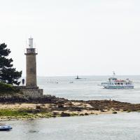 Point du Coq was one of two lights located in the town of Benodet.