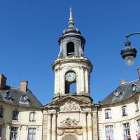 Another sight in Rennes was the city hall.