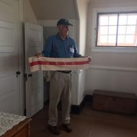 Richard Boonisar at Gurnet Lifesaving station