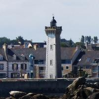 Last light of this day was the Roscoff Lighthouse, just a short way from the ferry dock in Roscoff.