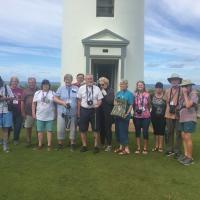 Second Group to climb Kilauea Lighthouse