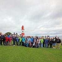 Group photo at the Souter Lighthouse