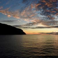 Sunset at Kauai Coast