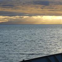 Sunset before 5 Fingers