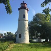 Thames River Lighthouse from the other side