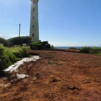 Red dirt road to Nawiliwili Lighthouse