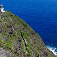 The trail to Makapu'u Lighthouse