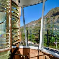 View of Diamond Head Crater from Lantern Room