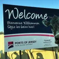 After several hours of delay, we finally arrived in Jersey!