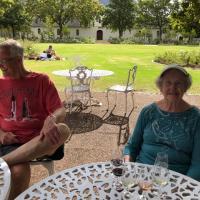 Wine tasting in at Boschendal