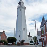 The city grew up around the Withernsea Lighthouse.