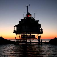 TPSL at sunrise. Photo by Harry Fahl. 2005.