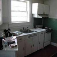 Kitchen on main floor.
