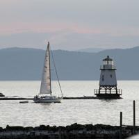 Burlington North Breakwater - Not officially part of the tour, but just down the block from our hotel