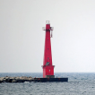 Michigan - September 21 - Muskegon South Breakwater - Photo Op
